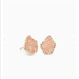 Kendra Scott Tessa Gold Earrings- Sand Dusky
